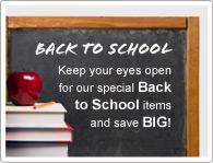 Держите глаза открытыми на специальные товары для школы и сэкономьте МНОГО!